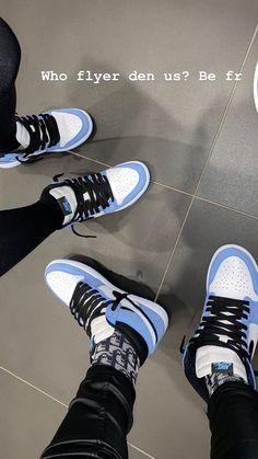 Jordan Shoes Girls, Jordan Outfits, Girls Shoes, Cute Sneakers, Shoes Sneakers, Tenis Air Force, Flipagram Video, Cute Black Couples, Swag Shoes