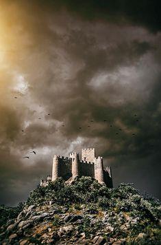 Almourol Castle In Portugal