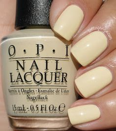 opi nail polish OPI Breakfast At Tiffany's - pinky pale pearl with iridescent shimmer polish / lacquer / vernis KellieGonzo opi nail polish Opal Nails, My Nails, Hair And Nails, Nail Lacquer, Opi Nail Polish, Yellow Nail Polish, Cute Nails, Pretty Nails, Gucci Nails