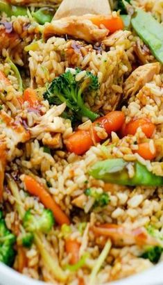 Teriyaki Chicken Casserole-The easiest supper to throw together….Baked Teriyaki Chicken Casserole is going to be a dump and bake meal that will require zero precooking of ingre. Teriyaki Chicken Casserole, Baked Teriyaki Chicken, Chicken Casserole In Oven, Healthy Casserole Recipes, Casserole Dishes, Healthy Recipes, Macaroni Casserole, Healthy Meals, Comfort Food