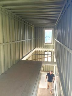A container home suits you depends on your living needs and future plans. Is the container house fit just an interim solution or the home for a long time? Container Homes For Sale, Building A Container Home, Container Buildings, Container Architecture, Interior Architecture, Shipping Container Home Designs, Shipping Containers, Sea Containers, Small Room Design