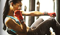 How to Lose Weight with a Punching Bag