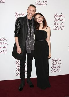 Lily Collins and Jamie Campbell Bower. <3