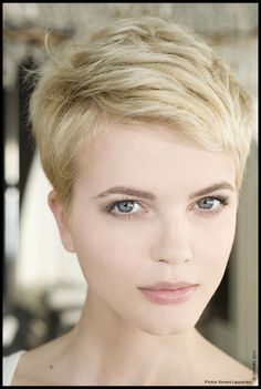 [Found] Blonde pixie
