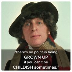 The Fourth Doctor rid himself of his preppy behaviors in exchange for bright colors and eccentricity. But his contagious fun-loving attitude often gave way to a deeper sadness, which made him even more feared in the eyes of his enemies.