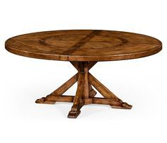 sunny designs sedona 60-inch round table with lazy susan (rustic