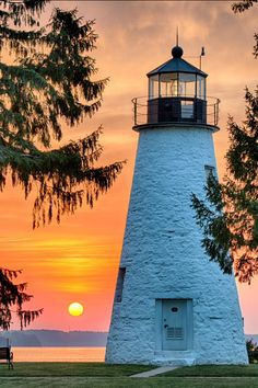 Concord Point Lighthouse, Havre de Grace, Maryland-by Camlin Photography More