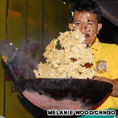 Nasi goreng is considered the national dish of Indonesia.