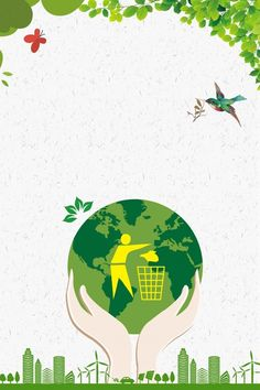 Business Earth Day Environmental Protection And Energy Saving Background Earth Day Posters, Earth Poster, Nature Posters, Red Background Images, Background Clipart, Earth Day Clip Art, Cool Powerpoint Backgrounds, Letra Drop Cap, Save Earth Drawing