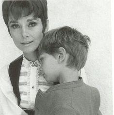 Rare photo of Audrey Hepburn