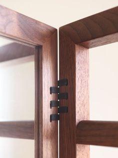 wood + leather