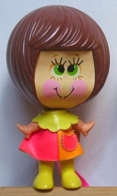 MATTEL: 1971 TALK-UPS Silly Talk Doll. I had this one, and my sister had the blonde one. I loved this thing. You pulled its head away from the body, and as it moved back it said different phrases like 'you're so silly' 😍😃😂