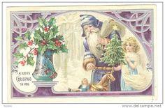 Postcards > Topics > Holidays & Celebrations > Christmas > Santa Claus - Delcampe.net