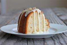 Banana Coconut Pound Cake