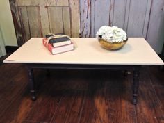 Country Chic Small Coffee Table Painted Distressed Furniture