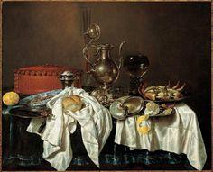 Fluitglas, roemer met gladde noppe, lage knobbelbeker Frans Hals Museum