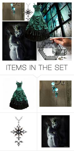 """""""Be Goth!"""" by monika-schulcz ❤ liked on Polyvore featuring art and begoth"""