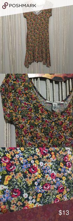 American rag floral skater dress American rag floral skater dress , soft and flowy, size medium American Rag Dresses