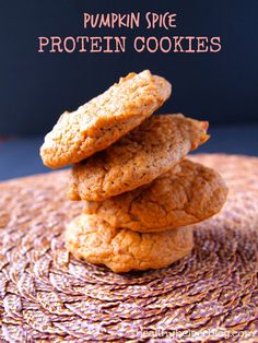Pumpkin Spice Protein Cookies [Nuzest Protein Giveaway!] – Healthy Helper