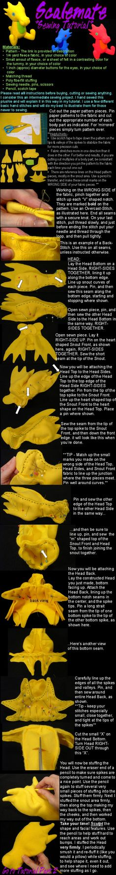 Scalemate sewing tutorial Part 1 by ~lishlitz on deviantART