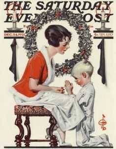 Vintage Rockwell Saturday Evening Post (PDF Cross Stitch Pattern)