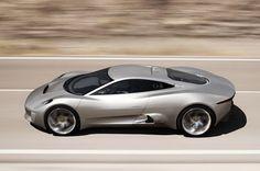 Hybrid Supercar Project C-X75 by Jaguar - yes please!