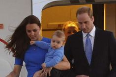 Royals arrive in Canberra