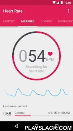 Runtastic Heart Rate Monitor  Android App - playslack.com , Turn your smartphone into your personal HEART RATE MONITOR - yep, that's possible!Your pulse is racing, your heart is in your mouth: It's easy to determine your physical or mental condition based on your pulse - and not only when you're excited. Measure your heart rate after a training session to find out how your cardiovascular system is doing under stress. Or, take an HR measurement before your next exam. Runtastic Heart Rate…