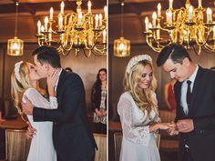 Noch schöner als die Winterlandschaft war das Hochzeitspaar selbst. Was für eine Braut. Wunderhübsch und in einem traumhaften Hochzeitskleid. Schaut selbst!