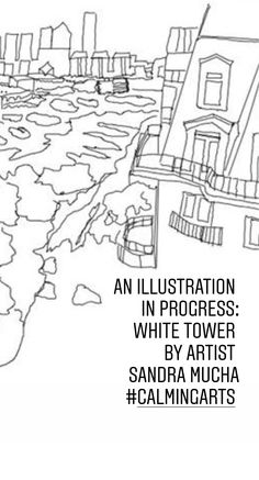 Request a Free Coloring page: Free Coloring Pages, Calming, Tower, Illustration, Artist, Rook, Free Colouring Pages, Lathe, Illustrations