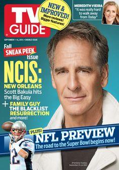 Scott Bakula on the Cover of TV Guide Magazine