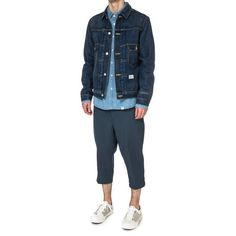 "Bedwin ""Tripster"" 8/L Dickies TC Pants Blue"