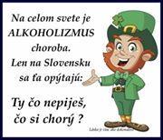 """Na celém světě je alkoholismus nemoc. Jen na Slovensku se tě zeptají: """"Ty nepiješ, jsi nemocný?"""""""