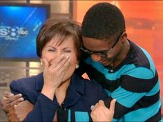 Black Teen Makes White News Anchor Cry & Pro Blacks All Over America Loo...