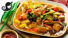 Easy One Pan Szechuan Vegetables and Tofu   Vegan/Vegetarian Recipe