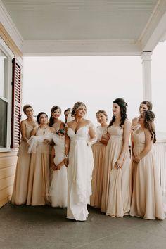 Champagne Bridesmaid Dresses, Azazie Bridesmaid Dresses, Wedding Dresses, Wedding Mood Board, Looking Gorgeous, Big Day, Wedding Colors, My Girl, Instagram