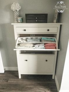 What is the best way to store linen when you don't have a linen closet? Find ideas inside for pretty, functional and affordable linen storage options. Ikea Hemnes Shoe Cabinet, Linen Storage Cabinet, Bathroom Linen Cabinet, Linen Cabinets, Storage Hacks, Cube Storage, Closet Labels, Home Entrance Decor, Home Decor