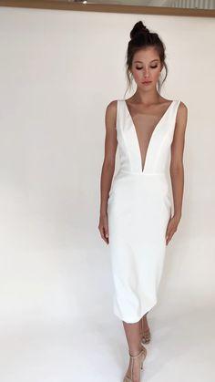 White Mini Dress, Dress Me Up, Formal Dresses, Wedding Dresses, Bridal Gowns, Marie, Fashion Dresses, Dress Summer, Style