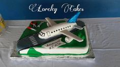 Aircraft cake / Cake de avion