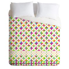 Aimee St Hill Color Block Duvet Cover   DENY Designs Home Accessories