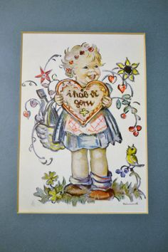 valentine girl hummel