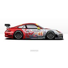 Porsche 911 Flying Lizard