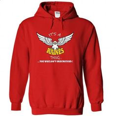 Its a Raines Thing, You Wouldnt Understand !! Name, Hoo - #lace shirt #sweatshirt street. SIMILAR ITEMS => https://www.sunfrog.com/Names/Its-a-Raines-Thing-You-Wouldnt-Understand-Name-Hoodie-t-shirt-hoodies-7980-Red-34675133-Hoodie.html?68278