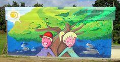#james #axelska #graffiti #street_art #deco #wall #spray #cox #fresque #mur #ecole