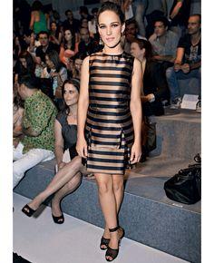 Vestidos listrados | Adriana Birolli