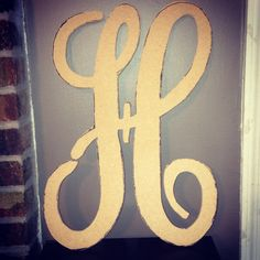 Single monogrammed letters only $35 at Accent Peace!!!! Check us out on Facebook https://m.facebook.com/profile.php?id=440140189393948&__user=507872546