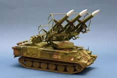 """2K12 """"Kub"""" / SA-6 Gainful Mobile Surface-to-Air Missile System (Russia)"""