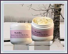 A shaving cream that softens facial and body hair. Just a small amount provides a cushion between skin and razor blade, thus preventing cuts and irritations. The skin is protected and left smooth and moisturized.   Please contactif you would like a different scent. Almost anything goes.   Sold in 4 oz jars.   Shea butter  may be effective at repairing damaged skin due to high levels of natural antioxidants and essential fatty acids   Coconut oil may be very good at hydrating skin. It may…