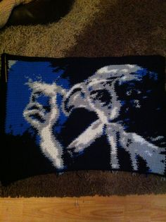 Dobby finished Pixel Crochet, Crochet Chart, Crotchet Patterns, Dobby, Yarn Crafts, Elf, Give It To Me, Projects To Try, Harry Potter