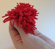 Dill Pickle Design: Pom Pom Flower Tutorial